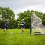 Rukket Lacrosse Goal Game Play
