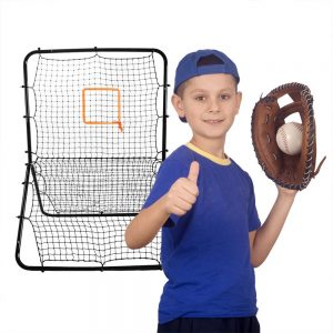 Crown Sporting Goods Multi-Sport Rebounder Pitch Back Screen