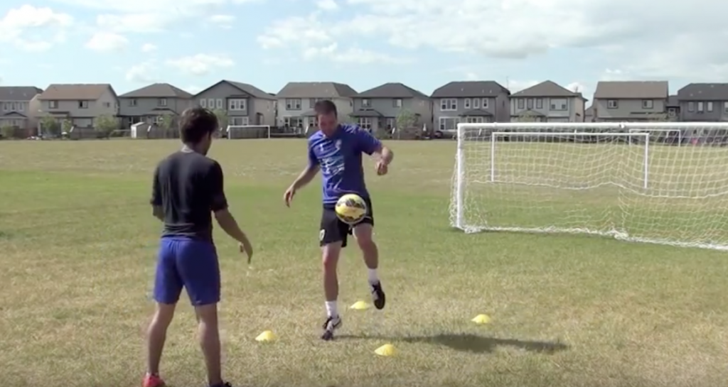 Ball Mastery Simple Soccer Drill 11