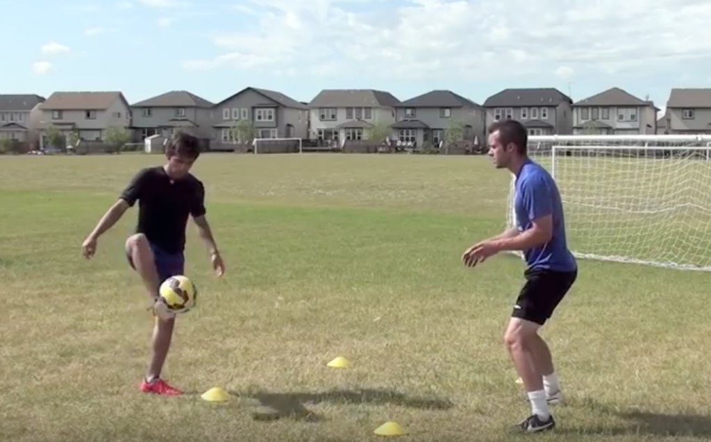 Ball Mastery Simple Soccer Drill 4.5