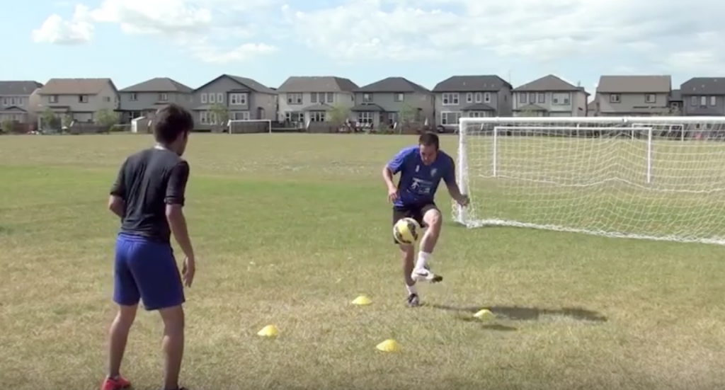 Ball Mastery Simple Soccer Drill 7