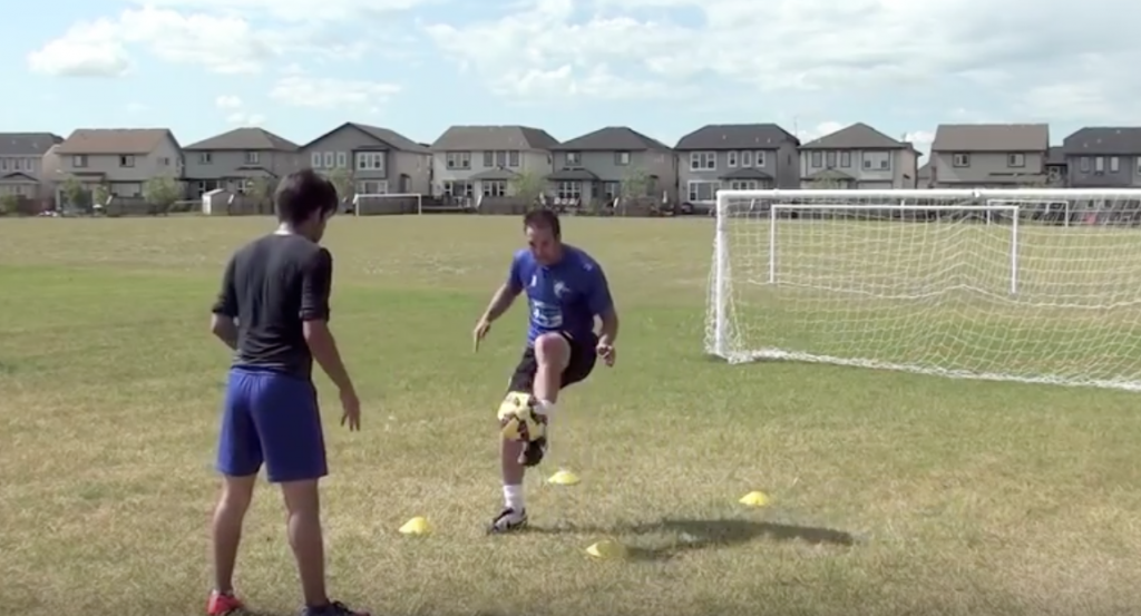 Ball Mastery Simple Soccer Drill 9