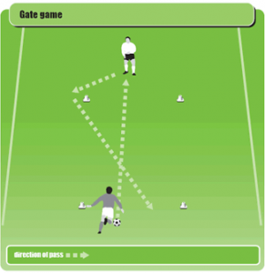Soccer Warm Up Drill 11