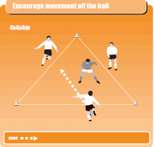 Soccer Warm Up Drill 9