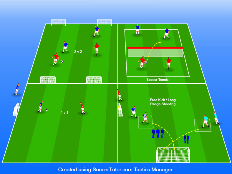17 Soccer Warm Up Drills for Kids [Soccer Warm up Drills and