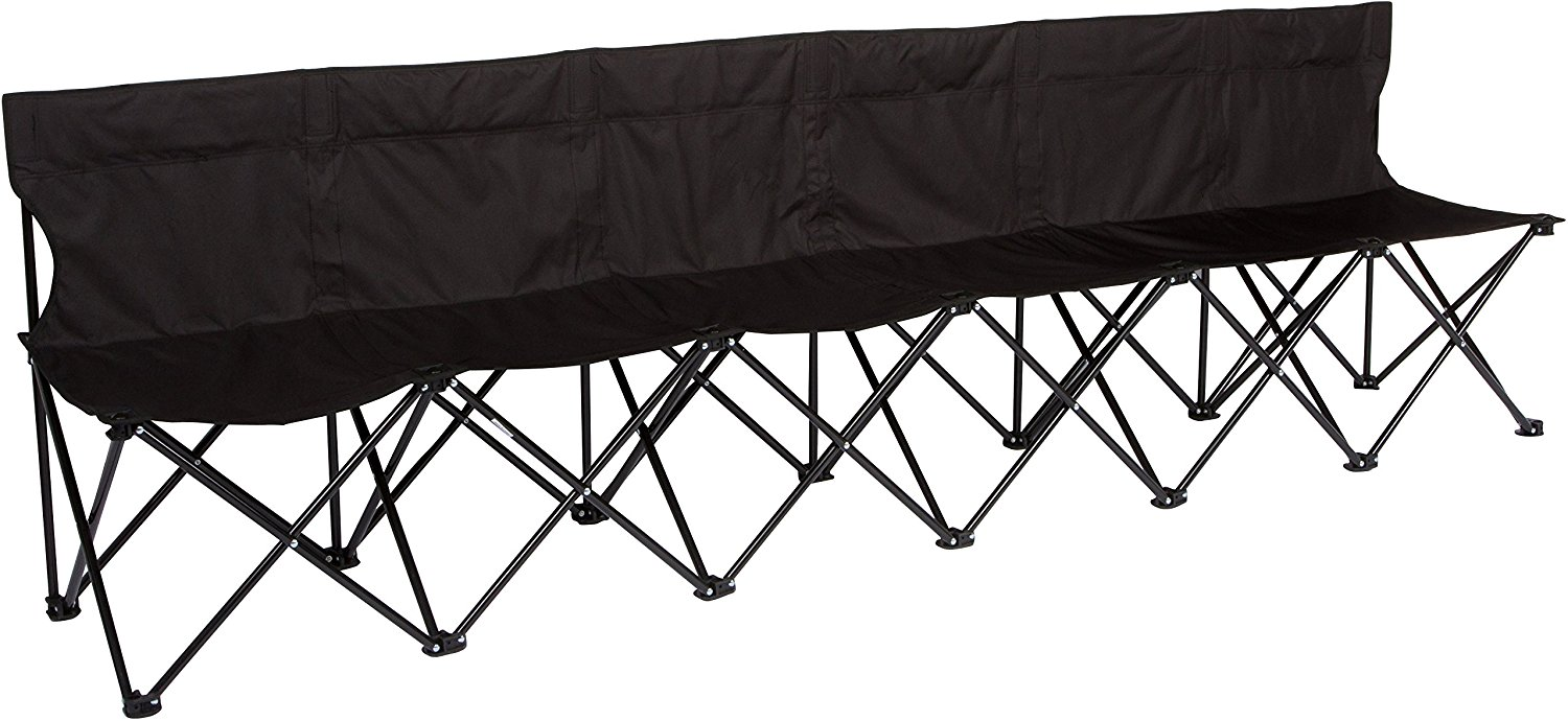 Trademark Innovations Portable Folding Sports Bench2