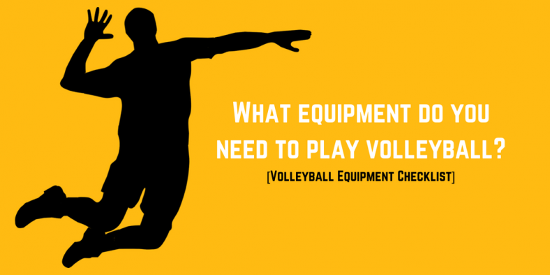 Volleyball Equipment Checklist Header Image