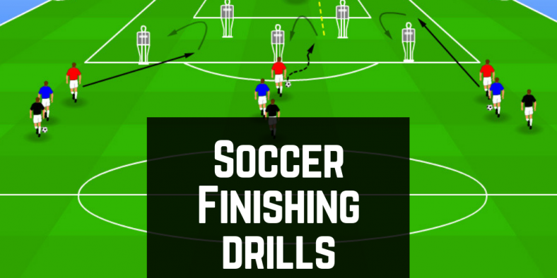 Finishing Soccer Drills Header Image