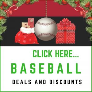 Baseball Festive Sales Sidebar Deals