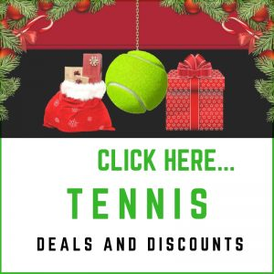 Tennis Festive Sales Sidebar Deals