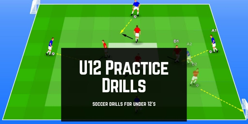 Top U12 Soccer Drills & Practices