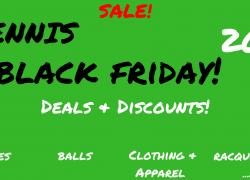Black Friday Tennis Deals 2018