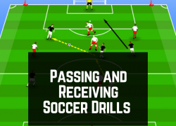 11 Passing & Receiving Soccer Drills [Printable Diagrams & Coaching Points]