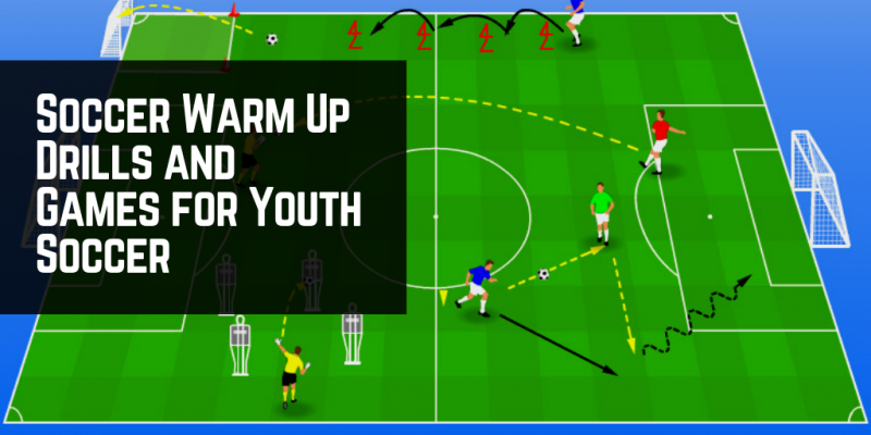 17 Soccer Warm Up Drills for Kids [Soccer Warm up Drills and Games]