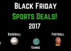Black Friday & Cyber Monday Sports Deals 2017