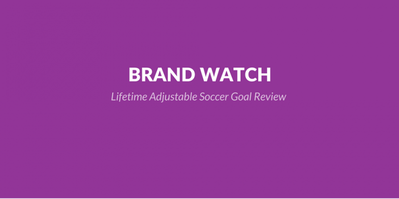 Adjustable Soccer Goal: The Lifetime Adjustable Soccer Goal Review