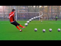 How To: Knuckle Ball a Soccer Ball – Quick Free Kick Tutorial for Soccer Coaches