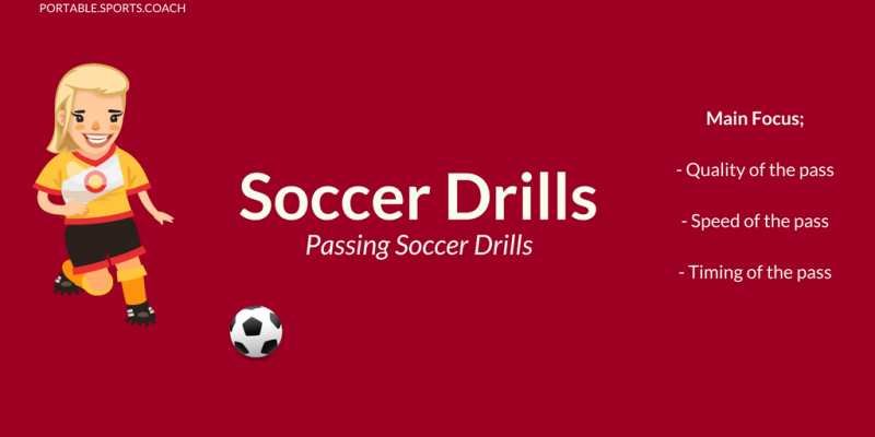 Soccer Passing Drills: Soccer Session Plan (Quality, Speed & Timing of the Pass)