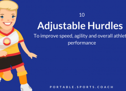 10 Adjustable Hurdles to Improve Speed and Agility