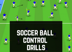 18 Super Simple Soccer Drills to Improve Ball Control And Footwork