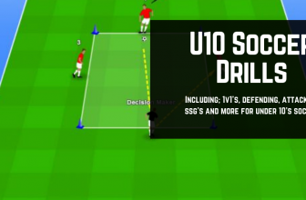 U10's Soccer Drills: Best Under 10's Practice Drills